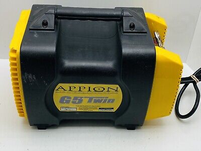 Appion G5 Twin Refrigerant Recovery Machine Used 100 Works Guaranteed R410a R22