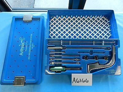 Arthrex Surgical Arthroscopic Arthroscopy Transfix Acl Reconstruction Set Wcase