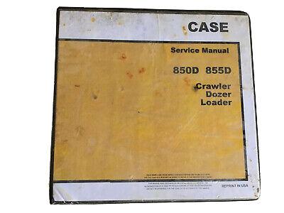 Case 850d 855d Crawler Dozer Loader Service Shop Manual Stock 1c