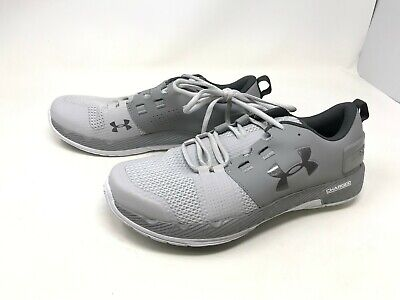 Mens Under Armour (1285704-003) Commit TR Ex Grey Training Shoes (421S-T)