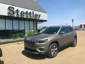 2019 Jeep Cherokee Limited 4X4! SUNROOF! ADAPTIVE CRUISE!