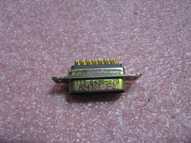 ITT CANNON 15 PIN D-SUB CONNECTOR # M24308/3-2