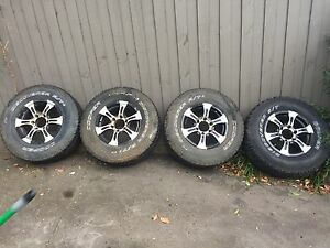 Hilux / BT50 wheels 265/70/16 Mont Albert North Whitehorse Area Preview