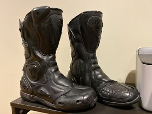 Genuine Leather Thomas Cook Racing boots, size 42/10.5