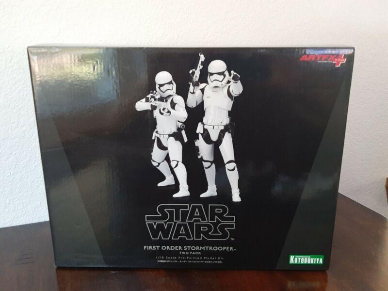 Star Wars ArtFX 1/10 First Order Stormtroopers 2 Pack