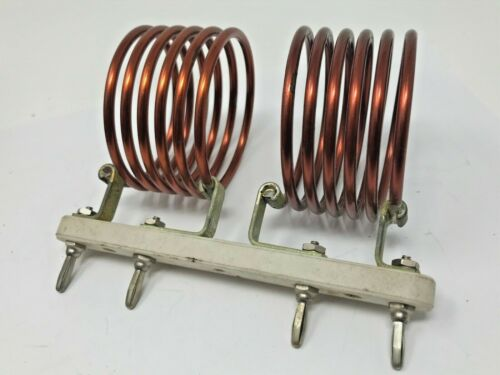 E.F. JOHNSON ~ AIR INDUCTOR COIL ~ 500HCF20 500HCS20 ~ HAM RADIO ~ FREE SHIPPING