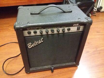 Belcat Amps Bass Bass Amplifier Belcat 25b