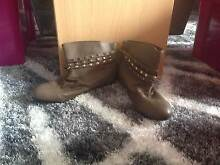 Closed Toe Ankle Length Brown Boots Size 9 Lakes Entrance East Gippsland Preview