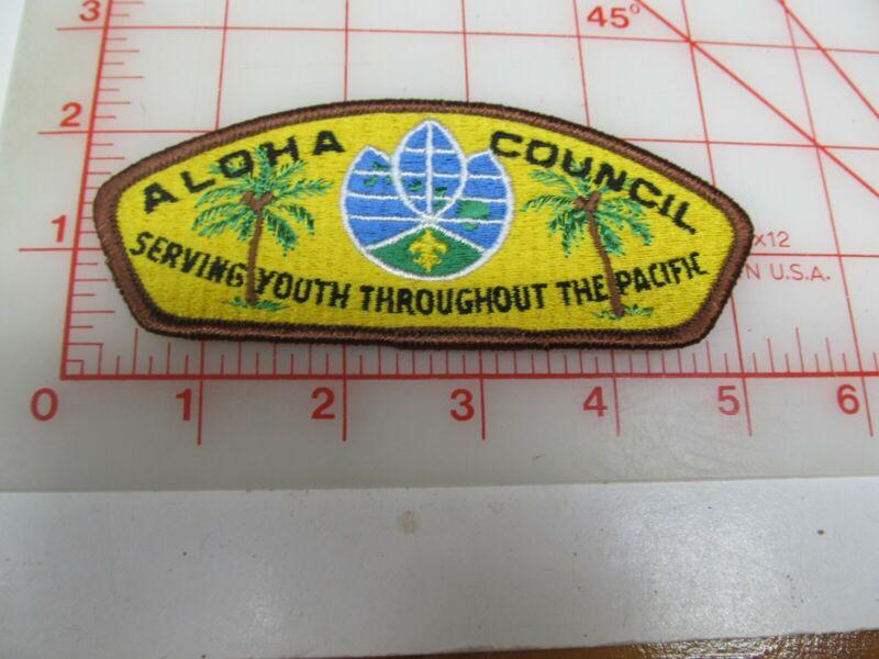 Aloha Council CSP collectible PB patch (o34)