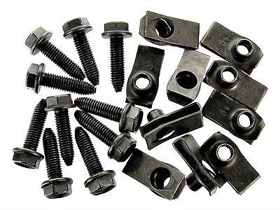 GM Bolts & U-nut Clips- M8-1.25 x 30mm- 20mm Center to Edge- 20 pcs (10ea)- #132