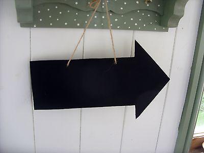 ARROW chalkboard blackboard direction sign handmade - Chalkboard Arrow