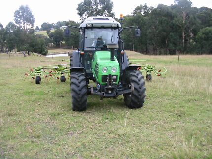 DEUTZ FAHR AGROPLUS 87 TURBO 4WD TRACTOR Nicholson East Gippsland Preview