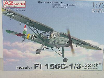 eduard Fieseler Fi-156 Storch interior exterior Ätzteile 1:72 Modell-Bausatz kit