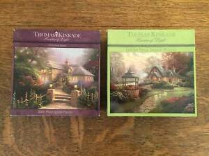 Jigsaw Puzzles x 2, Thomas Kinkade, 1000 Piece Each Bugle Ranges Mount Barker Area Preview