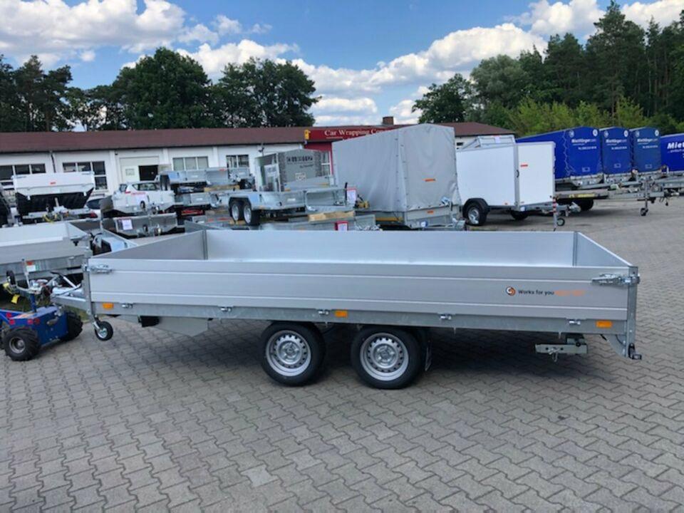 Anhänger⭐Saris Transporter PL 406 204 2700 kg 35cm Rampenschacht in Schöneiche bei Berlin
