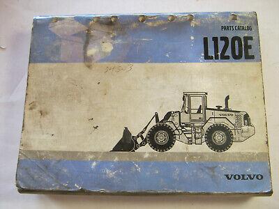 Volvo Wheel Loader L120e Parts Catalog 2002