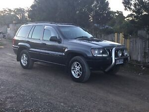 Jeep Grand  Cherokee Laredo  2003 2.7 5 cylinder Turbo diesel Ambleside Devonport Area Preview