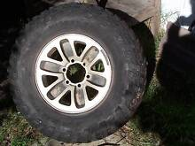 mickey thompson baja claw ttc tyres set of 5 on rims Forrestdale Armadale Area Preview