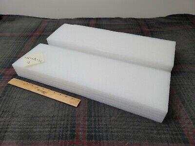 2 X White Polyethylene Foam Planks 22-12 X 6-58 2-12