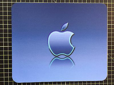 APPLE BLUE effect print MOUSEMAT MOUSE MAT PAD compatible with Mac iMac MacBook