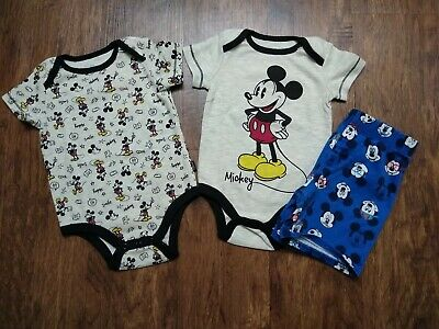 Disney Baby Clothes size 6-9 and 12 months Lot Of 3 Please Read Description