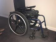 Ti Lite Aero X wheelchair Curtin Woden Valley Preview
