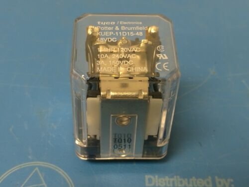 TYCO Potter & Brumfield KUEP-11D15-48 Relay 8-1393113-8 NEW
