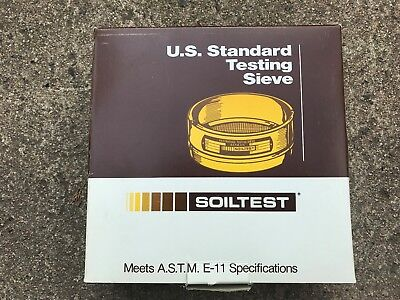 No. 270 53 M Soiltest U.s. Standard Testing Sieve