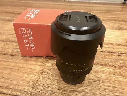 Sony FE 24-240mm f3.5-6.3 OSS Lens As New In Box