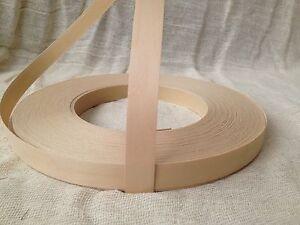 birch real wood veneer pre glued iron on edging tape. Black Bedroom Furniture Sets. Home Design Ideas