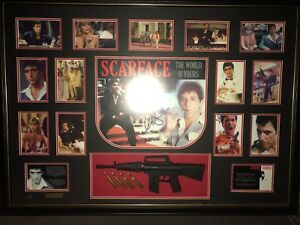 Limited Edition Scarface Frame Signed By Al Pacino Collectables