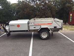 Kimberley Kampers off road camper. May 2015. Includes upgrades. Golden Grove Tea Tree Gully Area Preview