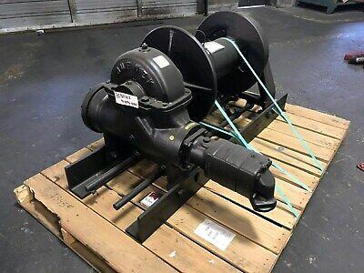 Tulsa Rufnek Winch 45000 Lbs Line Pull Hydraulic Worm Gear New Rn45wh-rfo