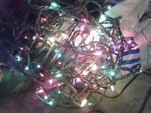 Colored Mini Christmas Lights