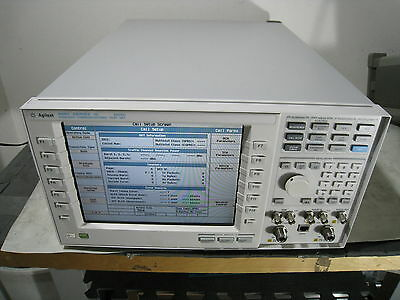 Hp Agilent E5515c Wireless Communications Test Set Cell Phone Analyzer Generator