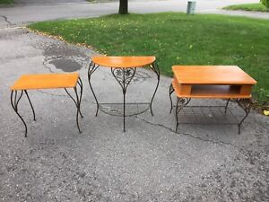 Set of Three Tables - Great Condition