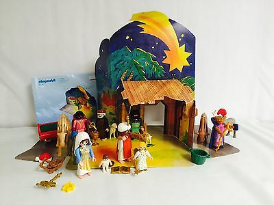 Playmobil Geobra Collectible Toys #6 Christmas Holiday Manger Spare Parts 46p