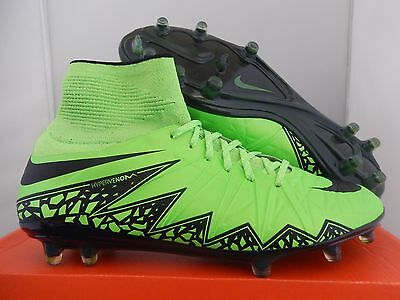 NIKE HYPERVENOM PHANTOM II 2 FG GREEN STRIKE-BLACK SZ 10.5 [747213-307]