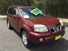 2002 Nissan X-trail Ti Wagon 4x4 Manual Lansvale Liverpool Area Preview