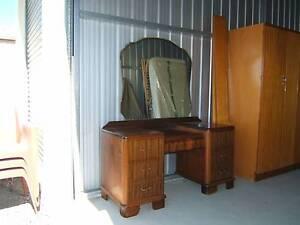 7 drawer double bedroom suite dressing table Aldinga Beach Morphett Vale Area Preview