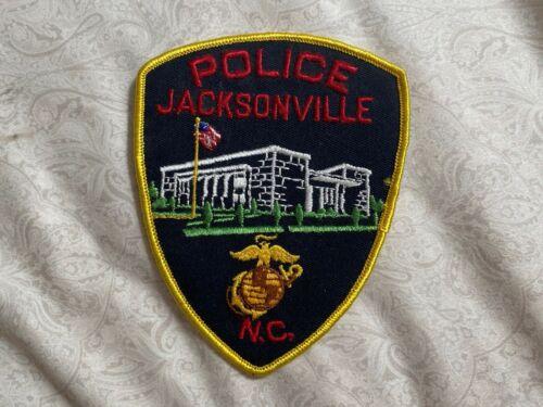 Jacksonville North Carolina Police Patch
