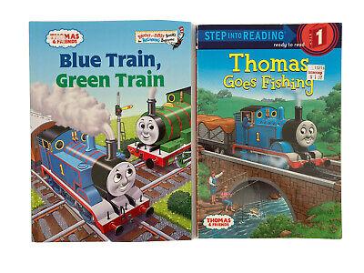 LOT OF 2 THOMAS THE TRAIN BOOKS