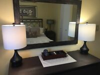 Bedside Lamps - Brand New, Never Used