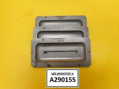 Varian Semiconductor Equipment E17089262 Shield End Adapters Lot Of 3 Used