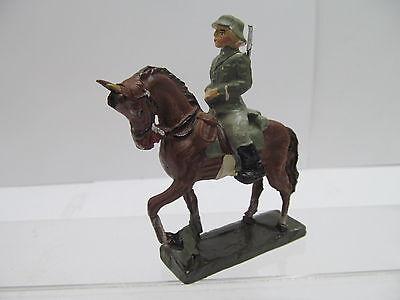 MES-46093Alter Original Masse Soldat H:ca.9cm,Originalzustand,