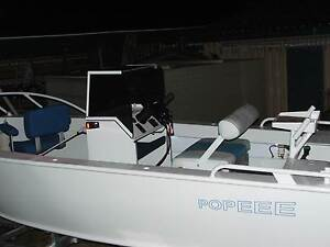 5.5mtr aluminium sturdy boat, great for outside fishing Barrack Heights Shellharbour Area Preview