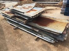 Rusty old Tin Corrugated Iron per lineal metre Croydon Burwood Area Preview