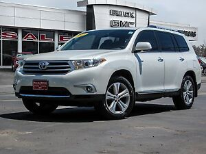 2013 Toyota Highlander Limited 4WD ** ONE OWNER!!** Must be seen