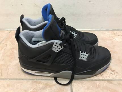 Jordan 4 retro alternate motorsport soar blue - us10