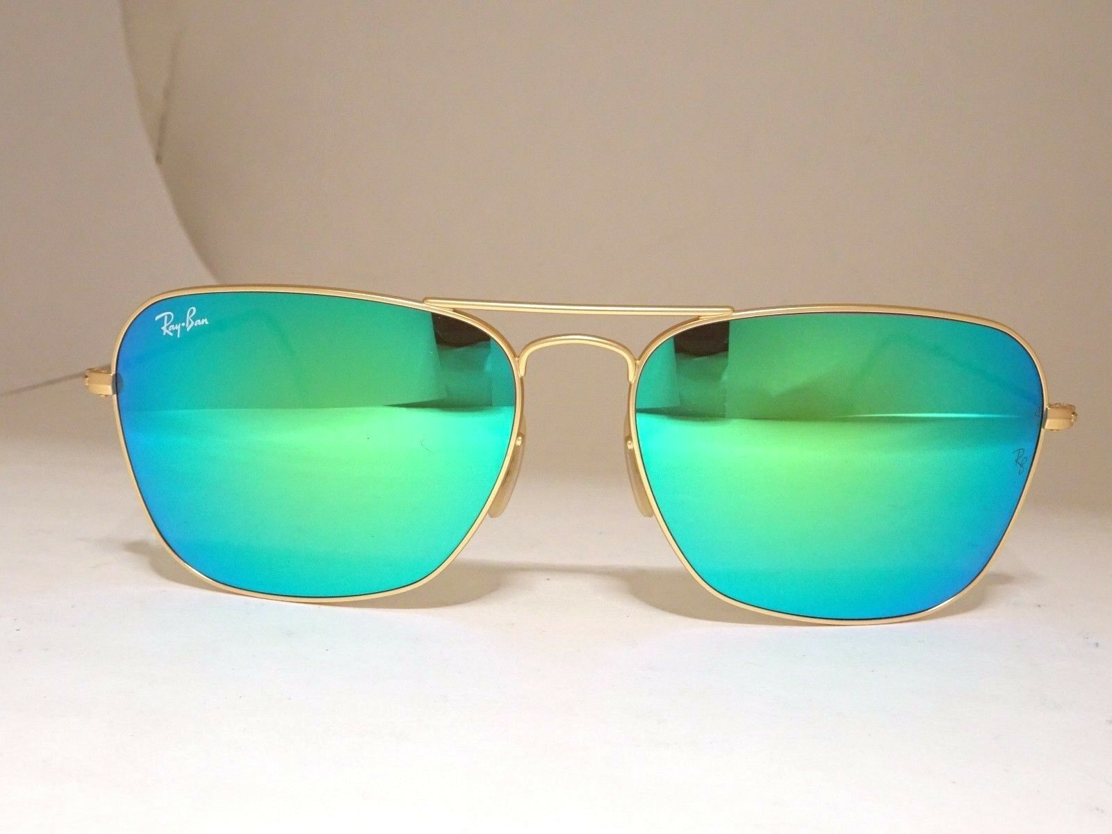 f5ccc8f8d2 EAN 8053672559132 product image for Ray-ban Sunglasses Caravan Green  Mirrored   Gold Metallic Frame EAN 8053672559132 product image for Ray Ban  3136 112 19 ...